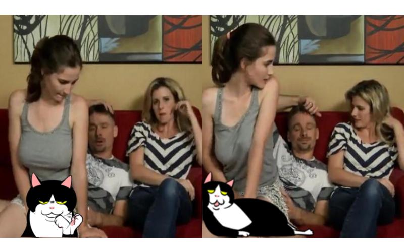 客廳啪到一半媽媽突然回家!女兒照坐爸爸腿上偷搖...竟沒被發現:太荒唐了!(傳送門)